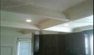 Another Finished Coffered Ceiling