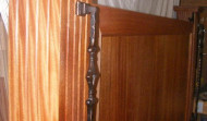 Side view of Head Board Bed Post