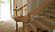 Custom Built Staircase & Banister