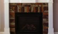 Finished Fireplace Mantle