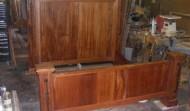 Finished Mahogany Bed